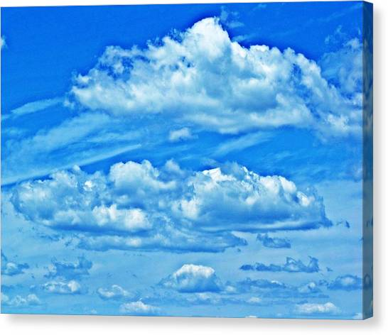 Clouds Canvas Print by Dave Dresser