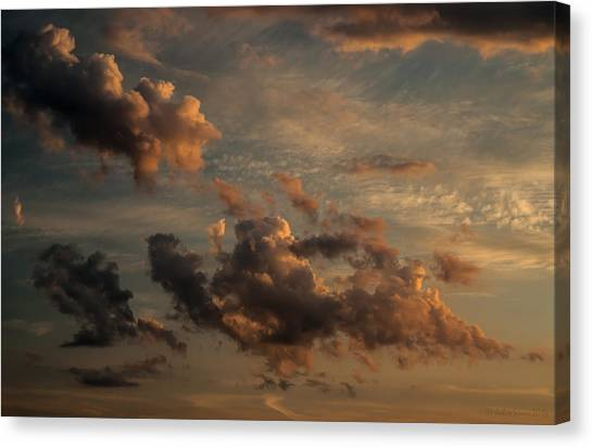 Clouds For Rembrandt Canvas Print