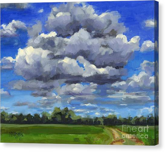 Clouds Got In My Way Sold Canvas Print