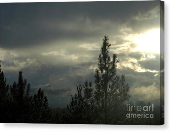 706p Clouds Canvas Print