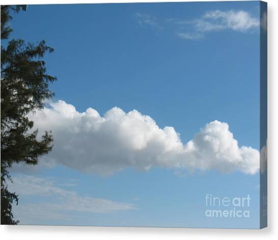 Clouds - Nuages - Ile De La Reunion - Reunion Island Canvas Print by Francoise Leandre