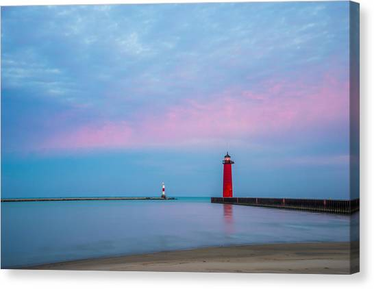 Clouds Of Cotton Candy Canvas Print