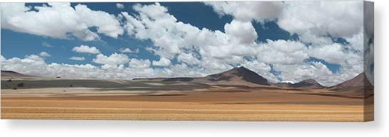 Atacama Desert Canvas Print - Clouds Over A Desert, Atacama Desert by Panoramic Images