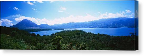 Arenal Volcano Canvas Print - Clouds Over A Volcano, Arenal Volcano by Panoramic Images