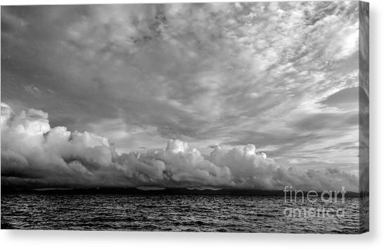 Clouds Over Alabat Island Canvas Print
