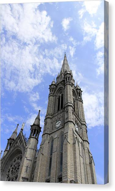 Clouds Over Cathedral Canvas Print