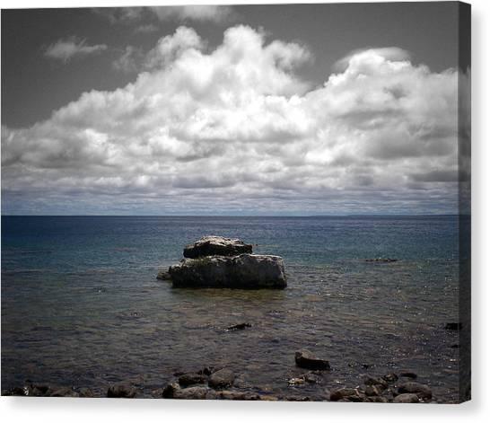 Clouds Over Georgian Bay - F2g Canvas Print