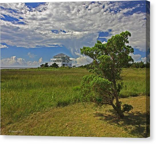 Clouds Over Hatteras Canvas Print