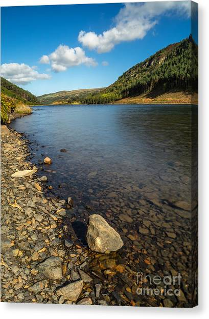 Cloud Forests Canvas Print - Clouds Over Lake  by Adrian Evans
