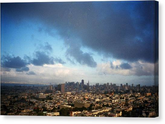 Clouds Over San Francisco Canvas Print by Eric Miller