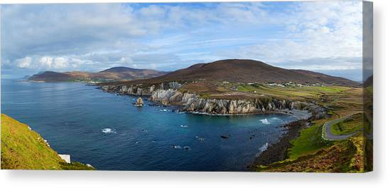 Moorland Canvas Print - Clouds Over The Sea, Atlantic Drive by Panoramic Images