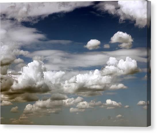 Clouds Canvas Print by Rakesh Iyer