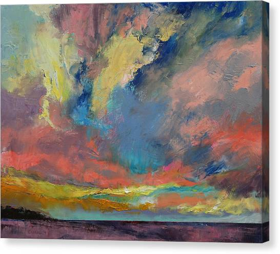 Tangerines Canvas Print - Cloudscape by Michael Creese