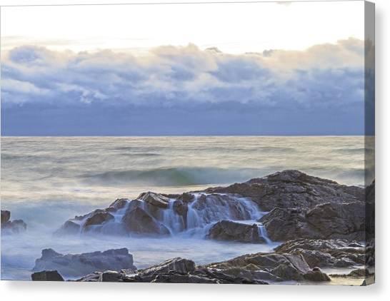 Cloudy Dawn Canvas Print