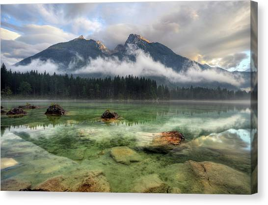 Cloudy Day Canvas Print by