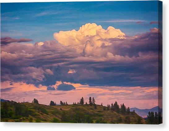 Witkowski Canvas Print - Cloudy Sunset by Omaste Witkowski