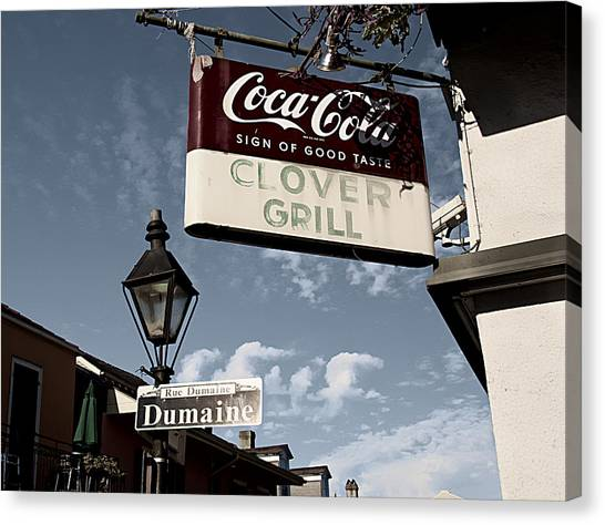 Clover Grill Canvas Print