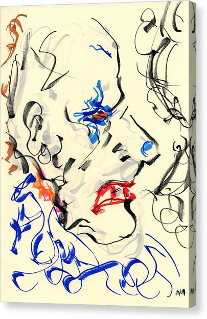 Clown Thug IIi Canvas Print