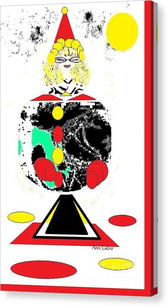 Clowning  Around 2 Canvas Print