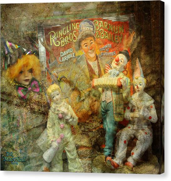 Clowning Bright Canvas Print
