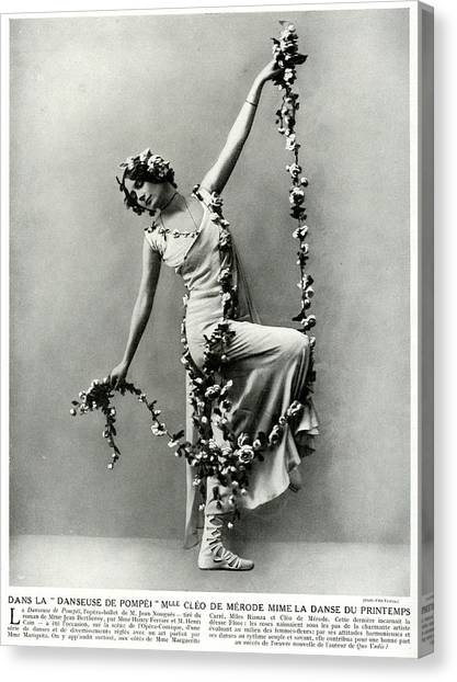 Merode Canvas Print - Cl鯠de M鲯de (1875  1966) by Mary Evans Picture Library