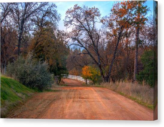 Clydesdale Road Too Canvas Print