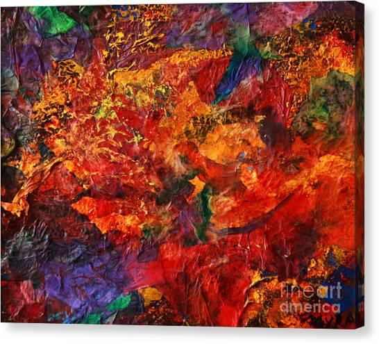 Cme Explosion Canvas Print
