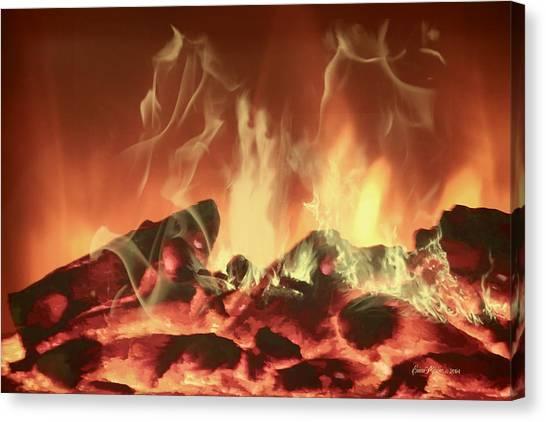 C'mon Baby Light My Fire Canvas Print