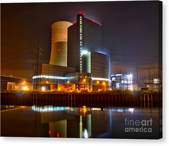 Coal Fired Powerhouse Canvas Print