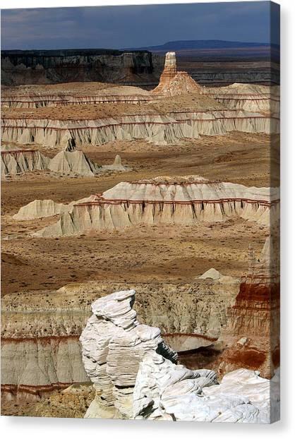 Coal Mine Mesa 19 Canvas Print