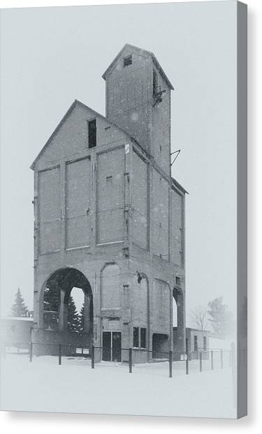 Coaling Tower Canvas Print