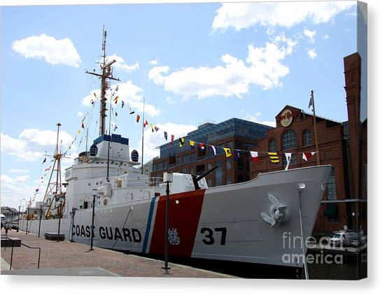 Canvas Print - Coast Guard 37  by Christiane Schulze Art And Photography