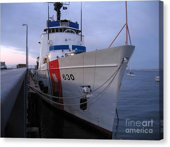 Coast Guard Cutter Alert Canvas Print