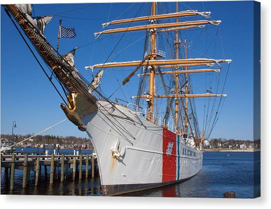 Coast Guard Cutter Eagle Canvas Print