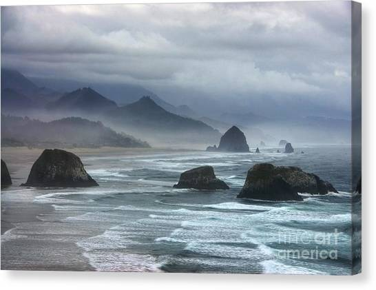 Canvas Print featuring the photograph Coast Of Dreams 4 by Mel Steinhauer