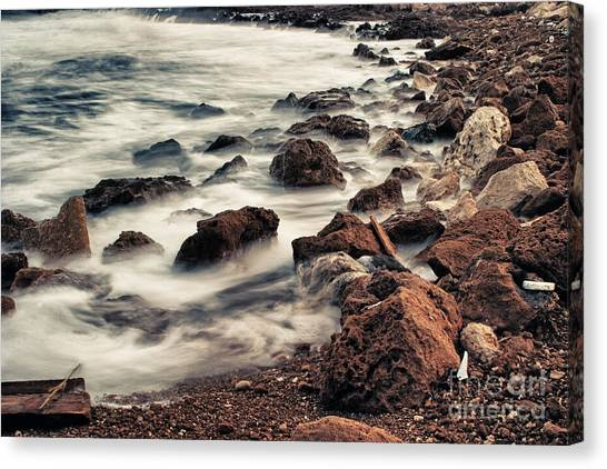 Cyclones Canvas Print - Coast by Stelios Kleanthous