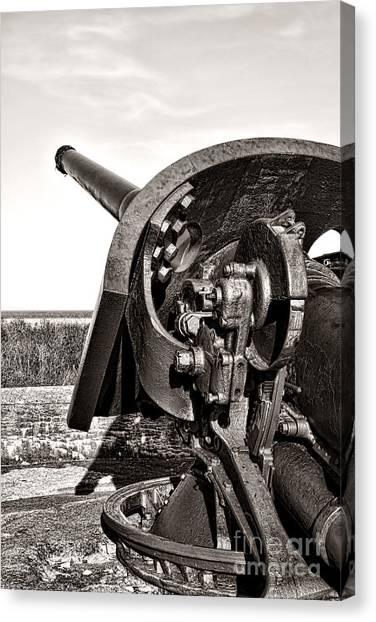 Inch Canvas Print - Coastal Artillery by Olivier Le Queinec