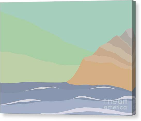 Coastal Bank Canvas Print