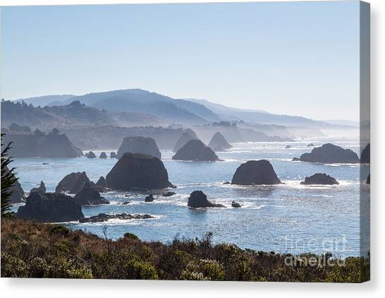 Coastal California - 474 Canvas Print by Stephen Parker