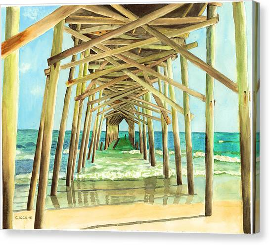 Coastal Cathedral  Canvas Print