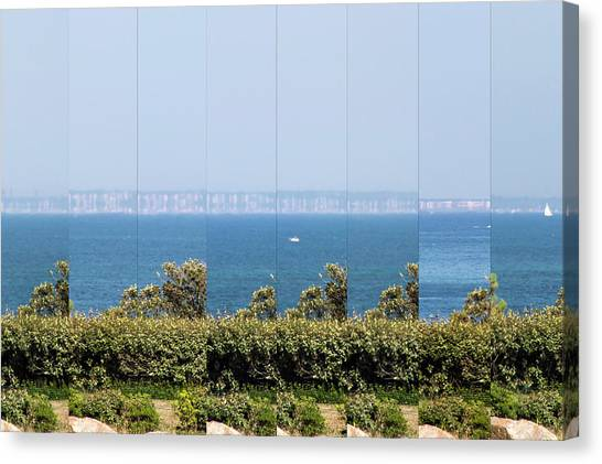 Mirages Canvas Print - Coastal Mirage Effects by Laurent Laveder