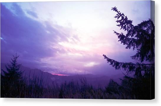 Coastal Mountain Sunrise Iv Canvas Print