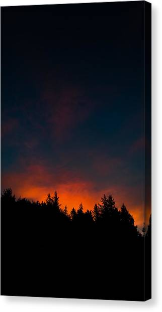 Coastal Mountain Sunrise Vi Canvas Print