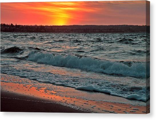 Coastal Sunset Canvas Print