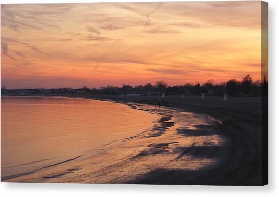 Coastal Sunset  II Canvas Print by Margie Avellino