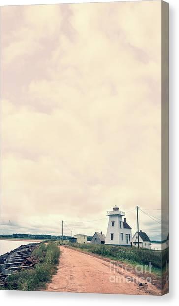 Prince Edward Island Canvas Print - Coastal Town by Edward Fielding