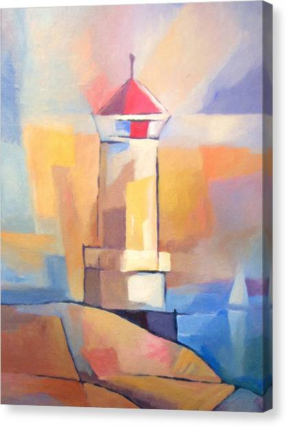 Lighthouse Canvas Print - Coastguard by Lutz Baar