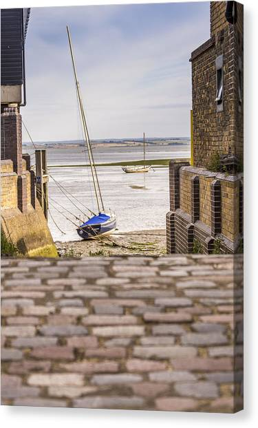 Cobble Coble Canvas Print by Carolyn Lewis