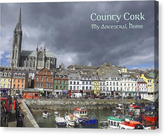 Cobh County Cork Canvas Print by Your Irish Heritage