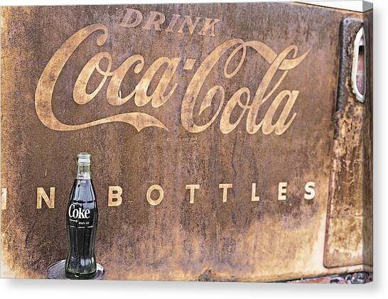 Coca-cola Bottle Return For Refund 13 Canvas Print